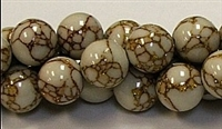 R02-12mm GOLDEN PINE JASPER