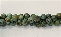 R04-06mm AFRICAN TURQUOISE BEADS