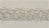 R10-08mm CLEAR QUARTZ BEADS
