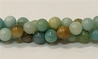 BEAUTIFUL AMAZON JASPER STONE BEADS