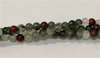 R15-04mm BLOODSTONE JASPER