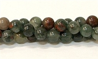 R15-08mm BLOODSTONE JASPER
