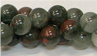 R15-10mm BLOODSTONE JASPER