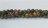 R18-04mm TIGER EYE-AB- BEADS