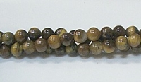 R18-06mm TIGER EYE-AB- BEADS