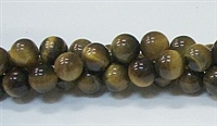 R18-08mm TIGER EYE-AB- BEADS