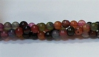 R20-04mm TOURMALINE COLOR AGATE