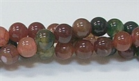 R20-08mm TOURMALINE COLOR AGATE