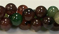 R20-12mm TOURMALINE COLOR AGATE