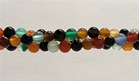 R28-04mm RAINBOW COLOR AGATE
