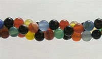 R28-06mm RAINBOW COLOR AGATE