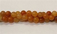 R30-06mm RED AVENTURINE BEADS