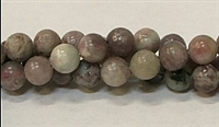 R38-08mm PURPLE KIWI BEADS