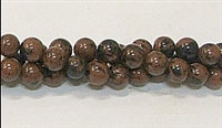 R39-06mm MAHOGANY BEADS