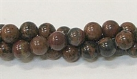 R39-08mm MAHOGANY BEADS