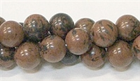 R39-10mm MAHOGANY BEADS