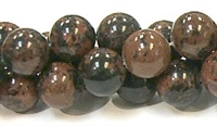 R39-12mm MAHOGANY BEADS