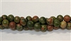 R42-06mm UNAKITE BEADS