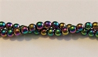 RB156-04-HEMATITE MATALLIC RAINBOW BEADS