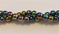 RB156-06-HEMATITE MATALLIC RAINBOW BEADS