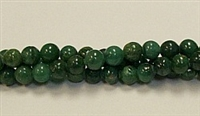 RB236-06mm AFRICA JADE BEADS