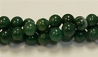 RB236-08mm AFRICA JADE BEADS
