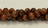 RB238-08mm SUN TIGER BEADS