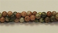 RB240-06mm PLUM JASPER BEADS