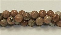 RB240-08mm PLUM JASPER BEADS