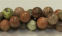 RB240-10mm PLUM JASPER BEADS