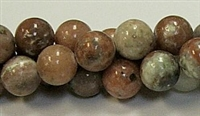 RB240-12mm PLUM JASPER BEADS