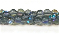 RB524-05-8mm GRAY BLUE MERMAID GLASS BEADS