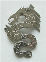 DRAGON PENDANT#1 IN STAINLESS STEEL