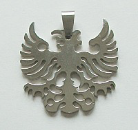 EAGLE PENDANT IN STAINLESS STEEL