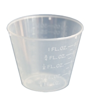 Graduated Mixing Cups 1 oz. (100 qty)