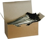 Metal Handled Craft Brushes (144 qty)