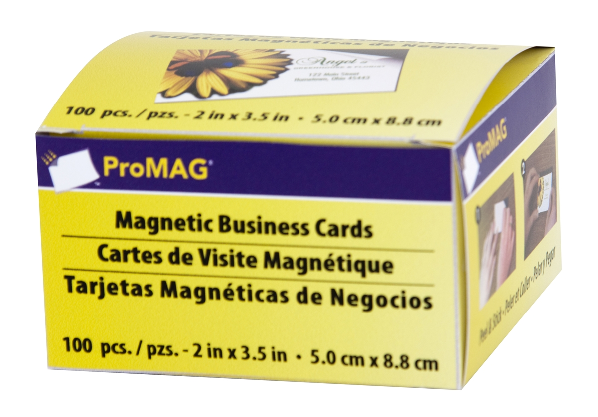 Business Cards Magnets Adhesive | Best Business Cards