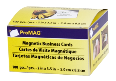 "Business Card Magnet w/Adhesive 2"" x 3.5"" (Qty. 100)"