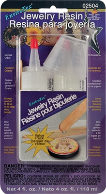 EnviroTex Jewelry Resin - 4oz. Kit, blister pack