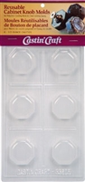 Octagon Knob Molds Reusable (Qty. 6 - 1/2 oz cavities)