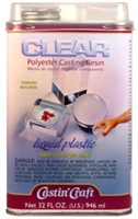 Castin' Craft Clear Polyester Casting Resin (32 oz) w/ 1/2 oz Catalyst
