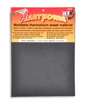 HeatForm Black (2 Sheets)