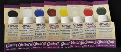 Opaque Pigment Set (8 - 1 OZ. Each Color)