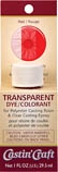 Packaged Transparent Dye - Red (1 oz)