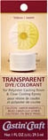 Packaged Transparent Dye - Yellow (1 oz)