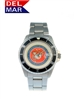 Del Mar Men's Marine Military Sport Dive Watch-Stainless Steel Sport Dive Watch