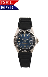 Del Mar Women's Sportstrap 200 Meter Water Resistant Watch Blue Face - Buy at Del Mar Watches Online