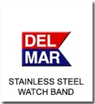Del Mar Watch Parts | Stainless Steel Wristtwatch Band Replacements