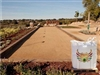 Gold Decomposed Granite Bocce Ball Court