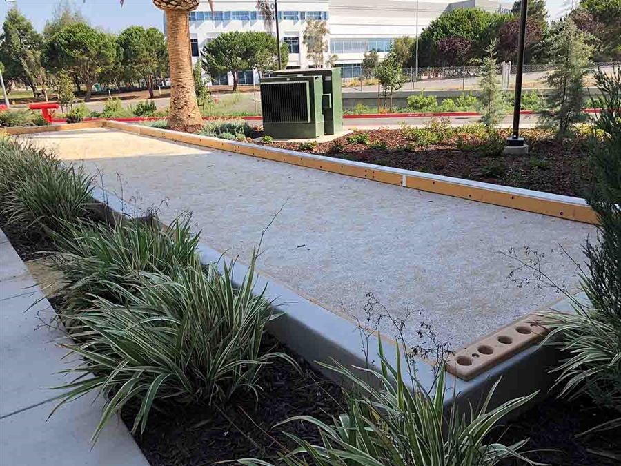 Bocce Court Gold Decomposed Granite Surface Dry Mix